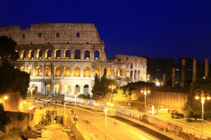 コロッセオ夜景