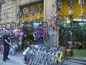 パレルモ 自転車職人通り