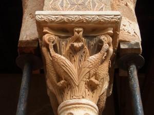 モンレアーレ 修道院の円柱
