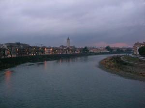 アディジェ川の風景