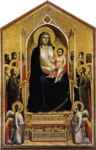 「荘厳の聖母」ジョット