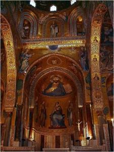 パレルモ 王室礼拝堂(Wikimedia Commons)