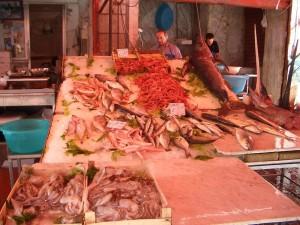 パレルモの魚屋さん