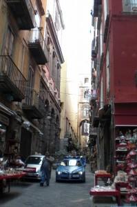 ナポリの下町
