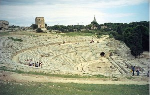 シラクーサ 古代ギリシア劇場