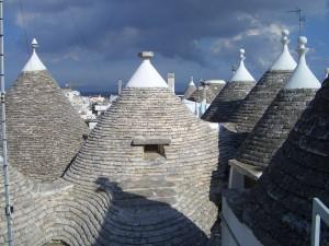 トゥルッリの屋根