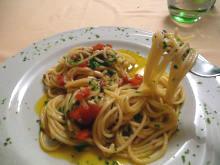 コラトゥーラのスパゲッティ