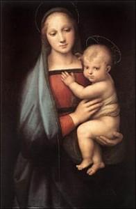 ラファエロ「大公の聖母」