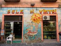 世界遺産アマルフィ海岸 ヴィエトリ・スル・マーレの陶器店