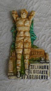 イタリア土産 アグリジェントのテラモン