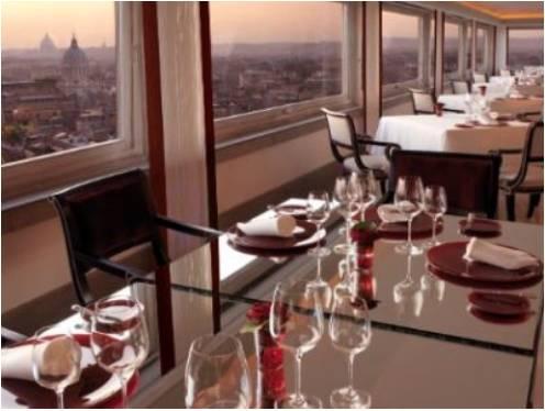 ローマ ホテル・ハスラー レストラン「イマーゴ」
