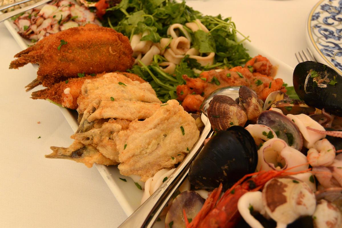 ヴェネツィア 前菜の盛り合わせ