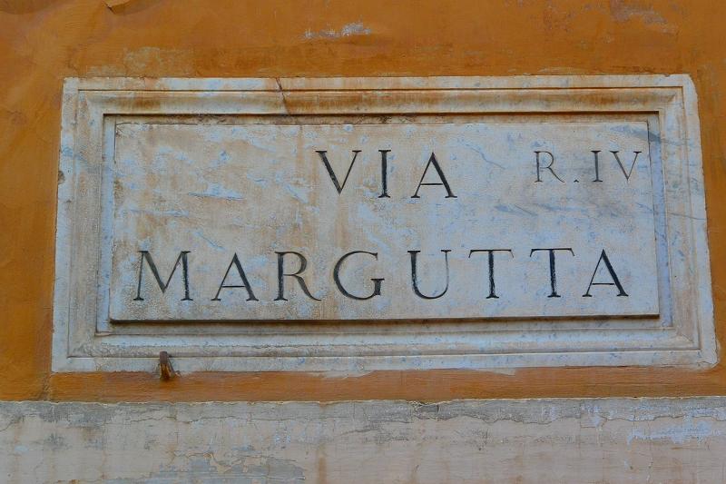 マルグッタ通り ローマ