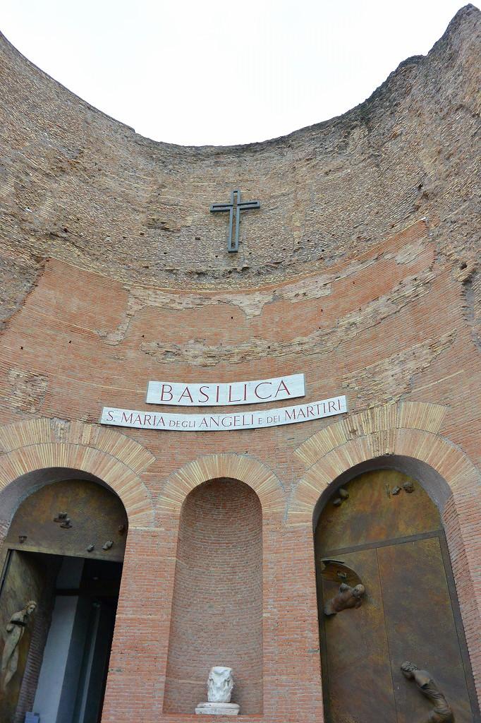 ローマ サンタ・マリア・出っリ・アンジェり・エ・デイ・マルティーリ教会