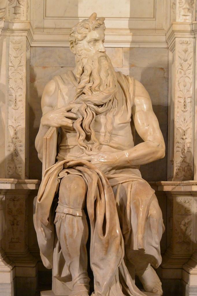 ミケランジェロ モーゼ像