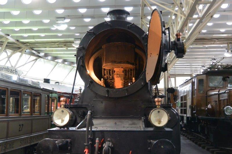 スイス国立交通博物館 蒸気機関車