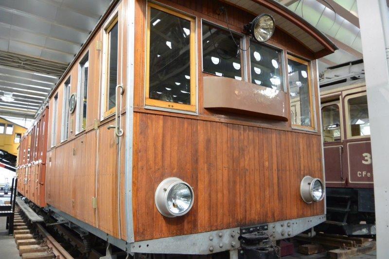 スイス国立交通博物館 登山列車