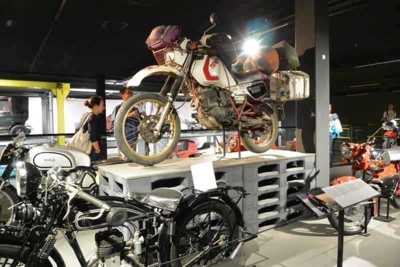 スイス国立交通博物館 バイク