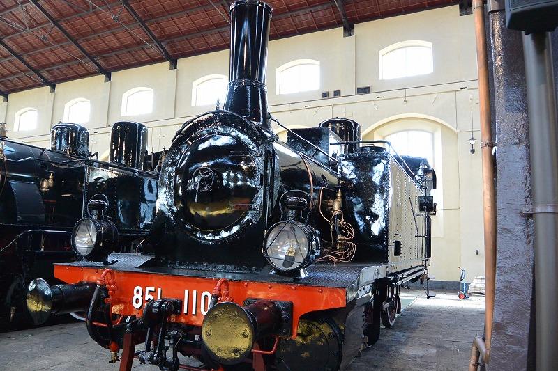 ナポリ ピエトラルサ国立鉄道博物館