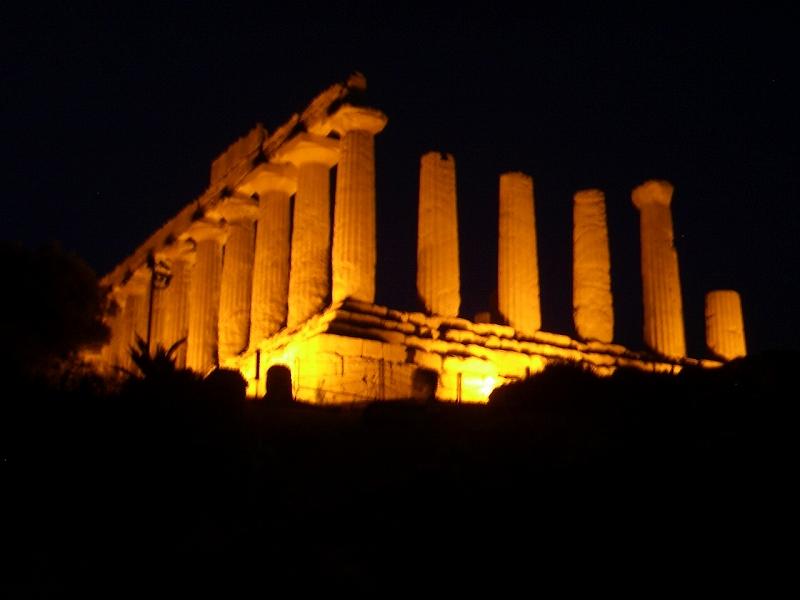 アグリジェント ヘラ神殿