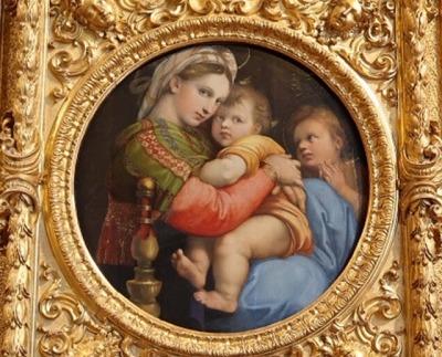 ラファエロ「小椅子の聖母」