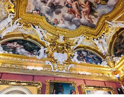 ピッティ宮殿の内装
